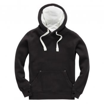 TR Hoodie Dusty Black - Supersoft - Pfirsichhaut-Effekt